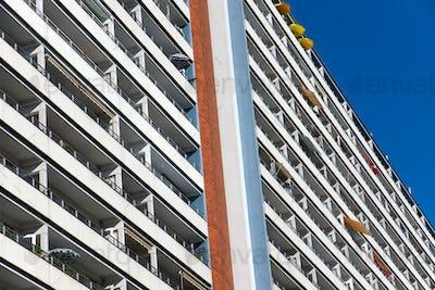 Big apartment building in Berlin