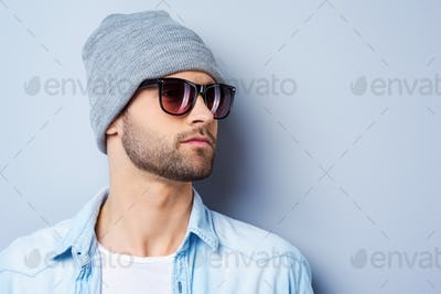 Cool and handsome.