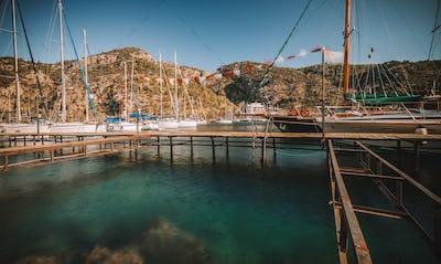 Turkey Sailboat Harbor
