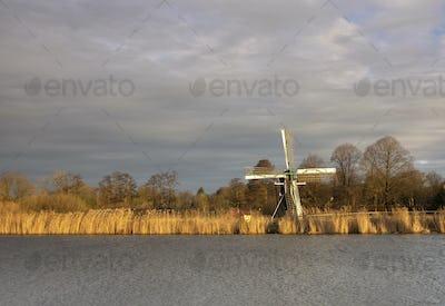 The Follega windmill near the Dutch village Laag-Keppel