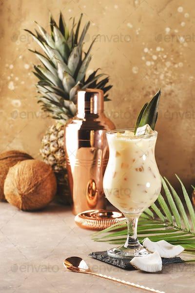 Pina Colada Summer Cocktail