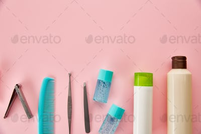 Oral care products, different toothbrushes
