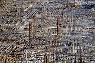 Reinforced concrete construction.
