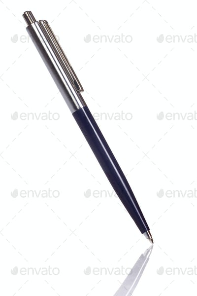 isolated pen on white