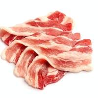 Bacon meat