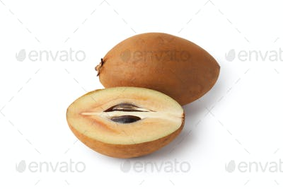 Whole and partial fresh sapodilla