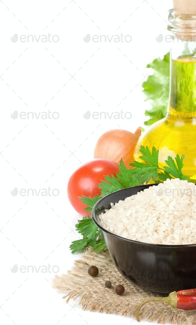 rice and healthy food