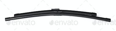 Windshield wipers for cars on a white background. Car part