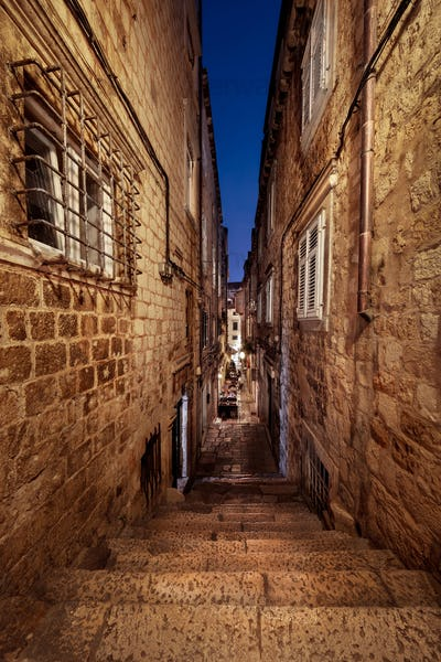 Tight Streets of Dubrovnik