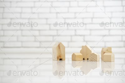 Business investment for real estate concept background.