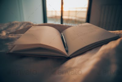 Reading Book at Home