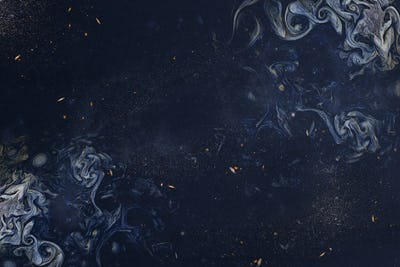 Navy blue smoky art abstract background
