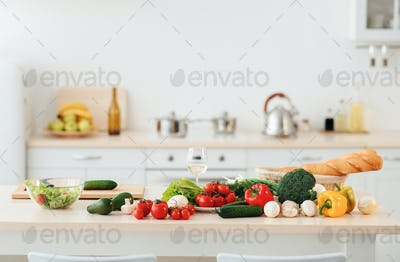Cooking food, vegetarianism, healthy eating and proper nutrition
