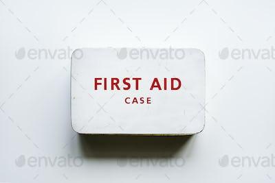 Vintage first aid case