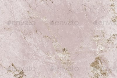 Pink and gold marble textured background
