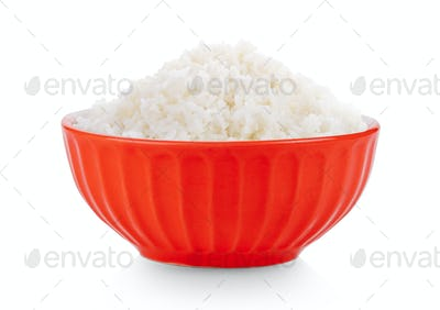 ceramic bowl isolated on white