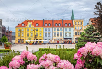 Stary Rynek square in Bydgoszcz, Poland