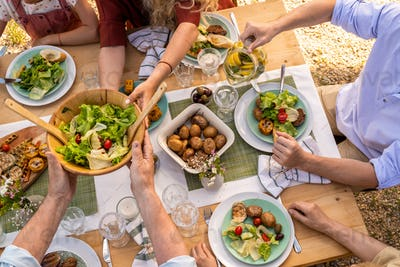 Vegan Dinner Party