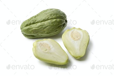Whole and partial chayote