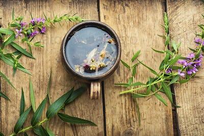 Aromatic fireweed tea,rosebay willowherb