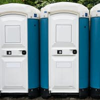 toilette cabins outside