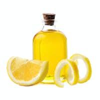 Citrus oil with citrus lemons