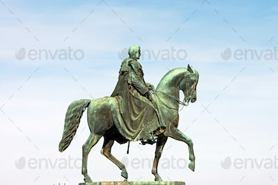King John of Saxony Statue