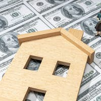 Investing in a house concept