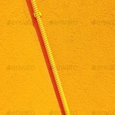 Stylish yellow minimal texture. Wall background. Aesthetic in details wallpaper
