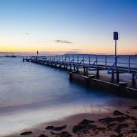 Cameron's Bight Jetty in Blairgowrie Australia
