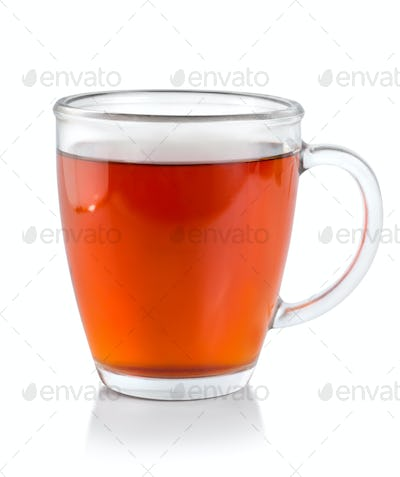 Tea in glass cup (Path)