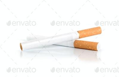 Two cigarettes (Path)