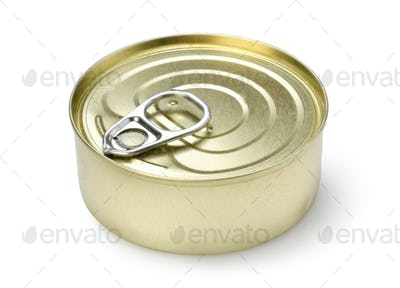 Canned pate isolated