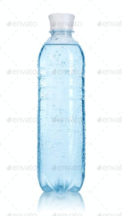 Bottle of water. Path