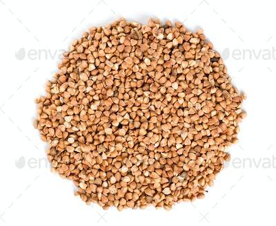 Raw buckwheat isolated