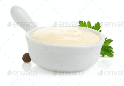 mayonnaise sauce and food ingredient