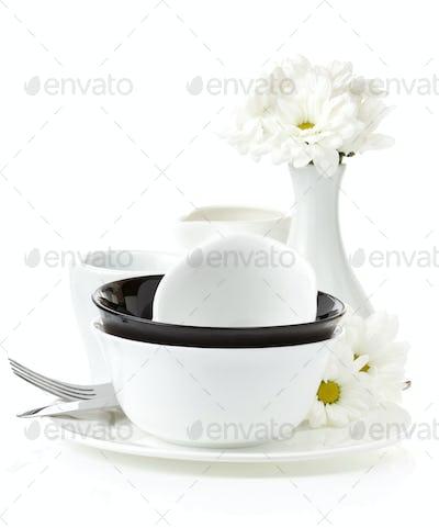 ceramic clean dishes