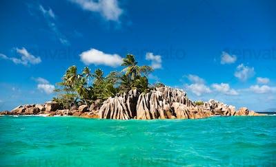 St. Pierre island, Seychelles