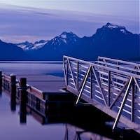Boats Dock Lake McDonald