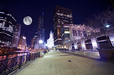 Chicago Famous Riverwalk