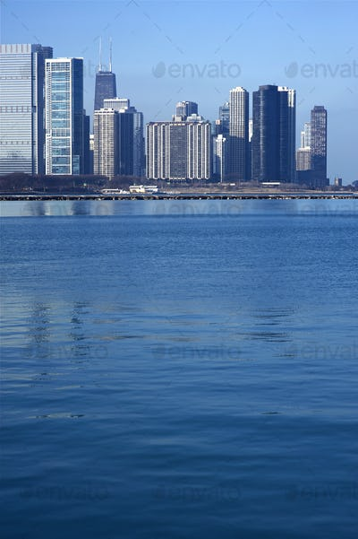 Lake Michigan Skyline