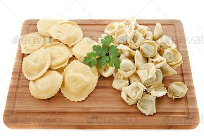 ravioli and tortellini