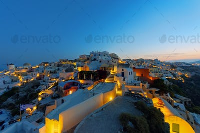 Oia at sunrise