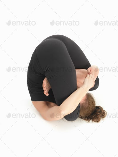contorsion reversed yoga pose