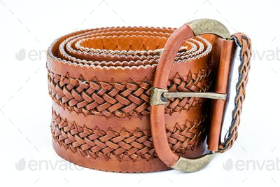 Leather women belts