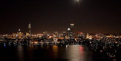 Boston's Back Bay and Cambridge, MA