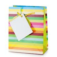 Colored gift bag