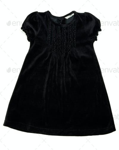 Black children's dress