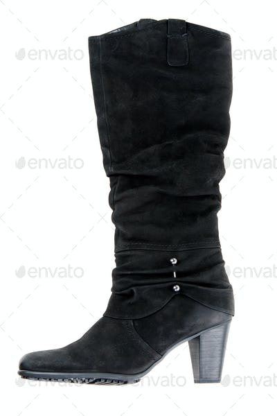 One female high boots