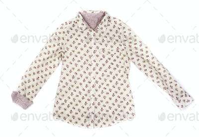 Fashionable women's blouse in bright colors.